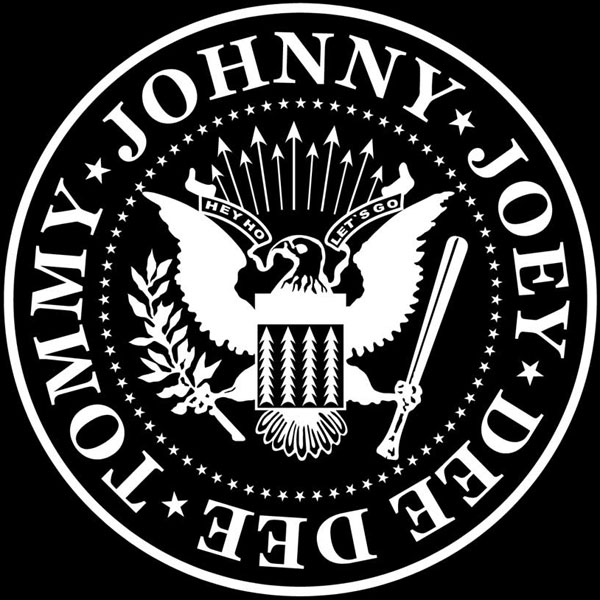 Ramones shield logo