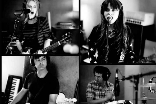 Veruca Salt rehearsing for their reunion tour | Photo by Gary Kordan