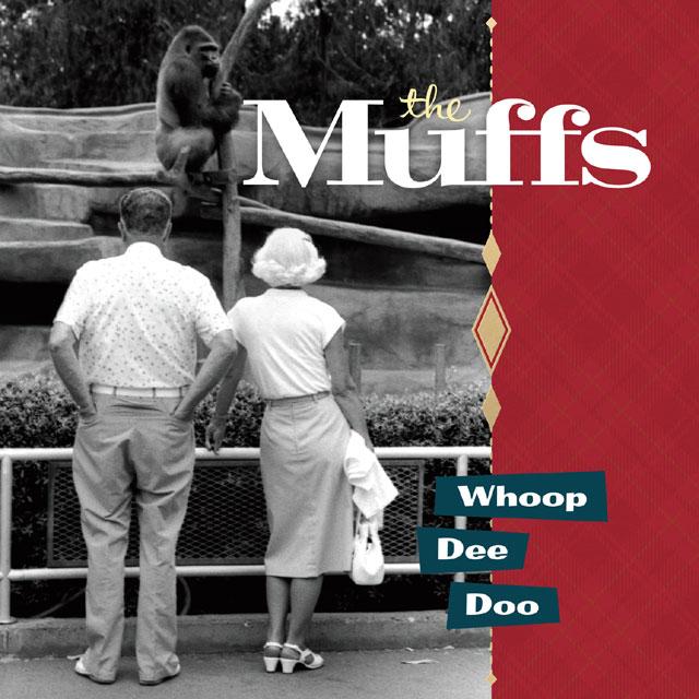 """The Muffs """"Whoop Dee Doo"""" album cover art 2014"""