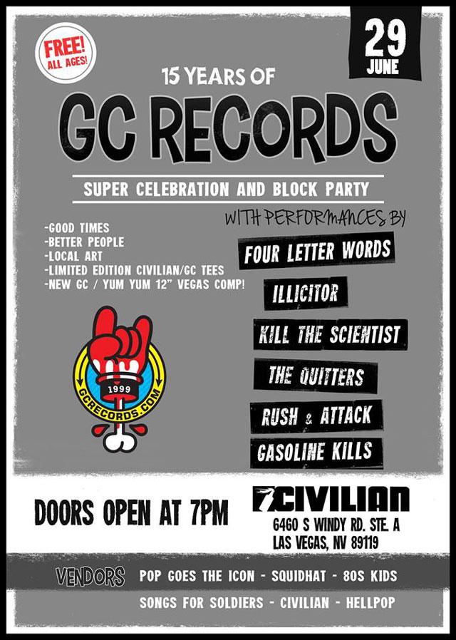 GC Records 15th anniversary