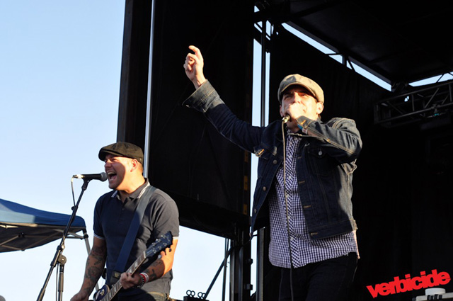 Street Dogs performing at PRB 2012 | photo by Shahab Zargari