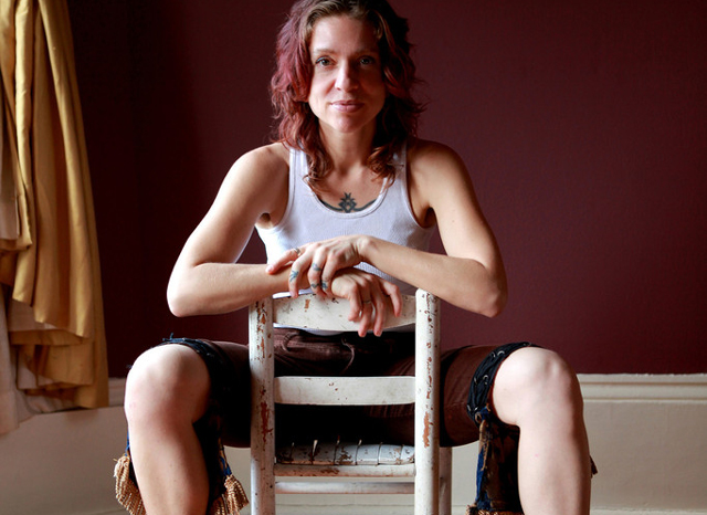 Ani DiFranco, photo by Patti Perret