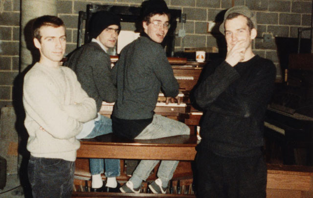 Fugazi ca. 1988, courtesy of Dischord Records