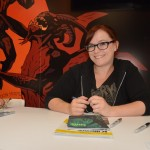 Becky Cloonan. photo by Shahab Zargari.
