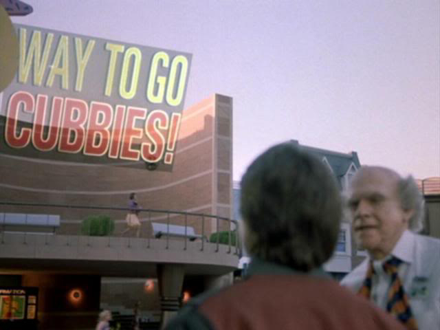 "Way to Go Cubbies! - Chicago Sweeps Miami in the 2015 World Series, from ""Back to the Future Part II"""