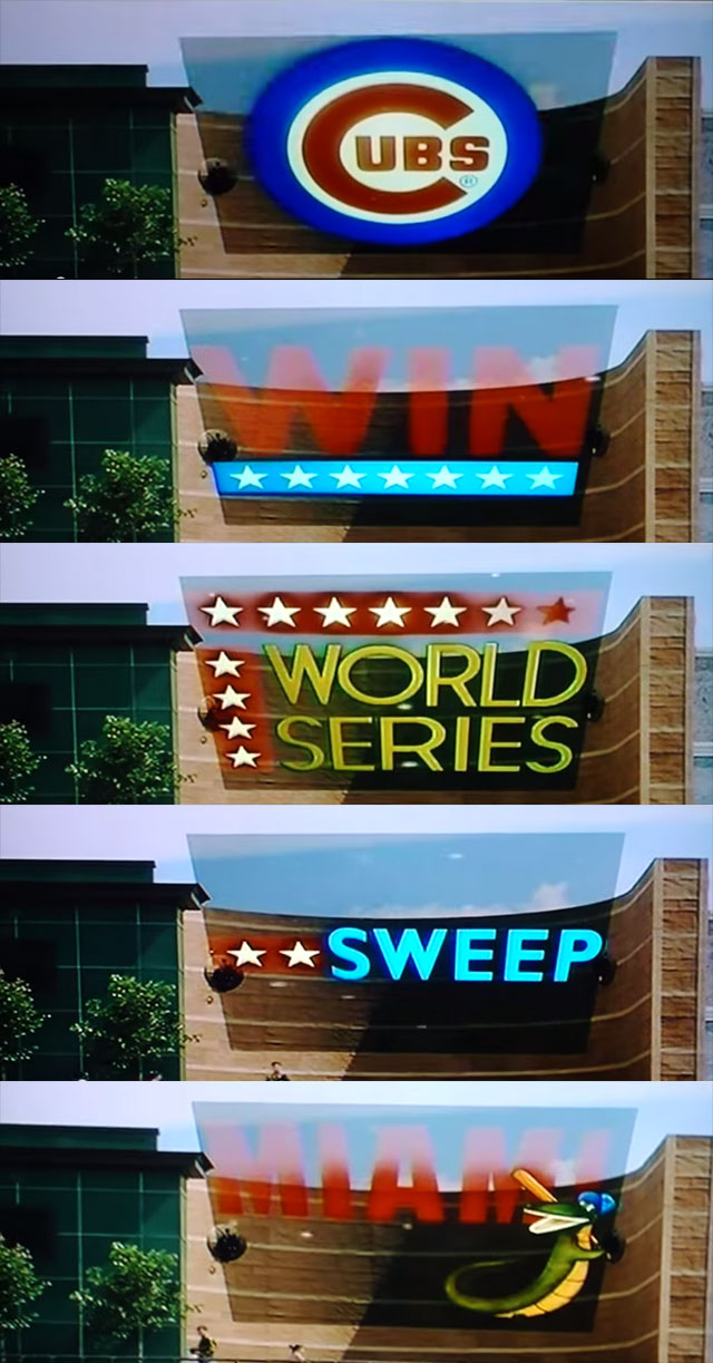 Cubs Win World Series! (Back to the Future Part II)