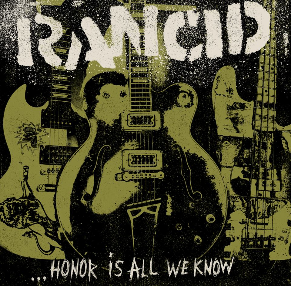 "Rancid ""Honor Is All We Know"" album cover art"
