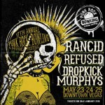 Punk Rock Bowling 2015 Announces Rancid, Refused, and Dropkick Murphys as Headliners