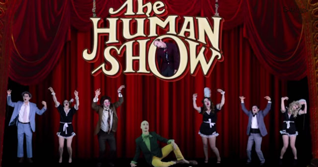 "The Muppets perform ""The Human Show"""