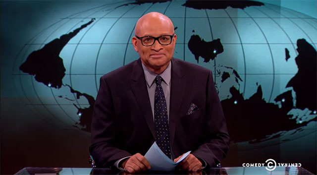 "Larry Wilmore on ""The Nightly Show"""