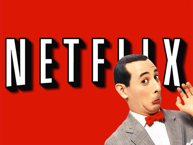 Pee-wee's Big Holiday on Netflix