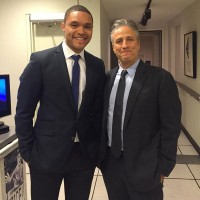 "Trevor Noah and Jon Stewart, ""The Daily Show"""