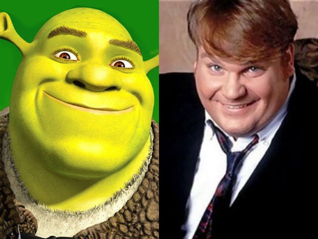 Chris Farley's Version of Shrek Has Leaked Online