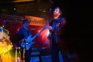The Arcs perform at Mohawk Austin on April 29, 2016 in Austin, Texas