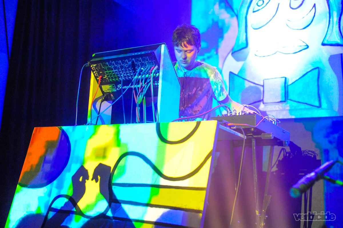 Animal Collective at Emo's on April 30, 2016.
