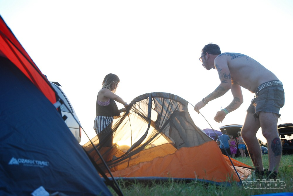 Float Fest campgrounds