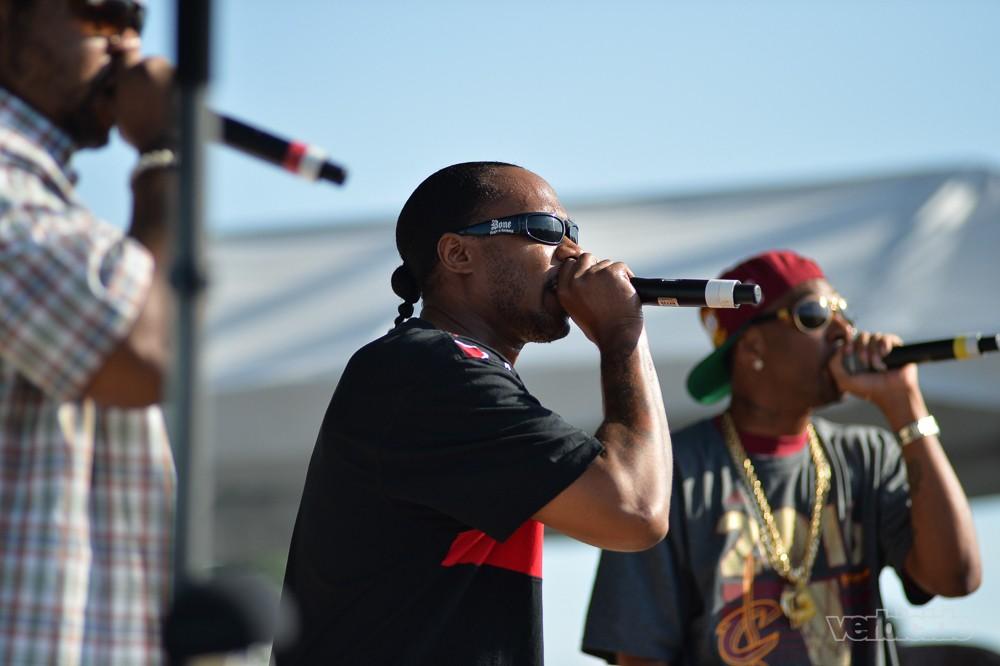 Bone Thugs-n-Harmony at Float Fest 2016