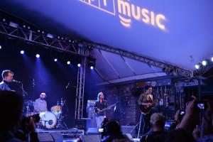 Big Thief performing at the NPR Music SXSW Showcase on 3.15.17