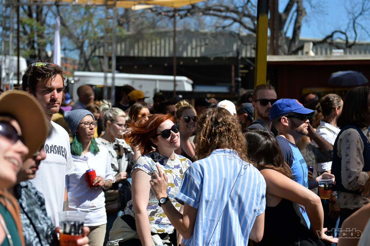 Day Party Revelers at the Scoot Inn on 3.14.17