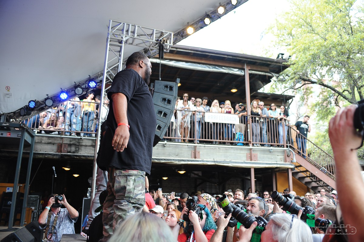 De La Soul performing at Rachael Ray's Feedback Party on 3.18.17