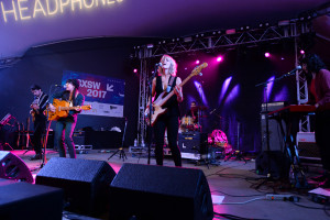 Hurray for the Riff Raff performing at the NPR Music SXSW Showcase 3.15.17