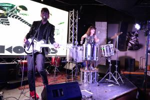 KOLARS performing at the Oy Vey SXSW Showcase on 3.16.17