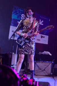 PWR BTTM peforming at the NPR Music SXSW Showcase 3.15.17