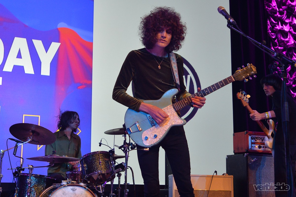 Temples peforming at the SXSW Radio Day Stage 3.15.17