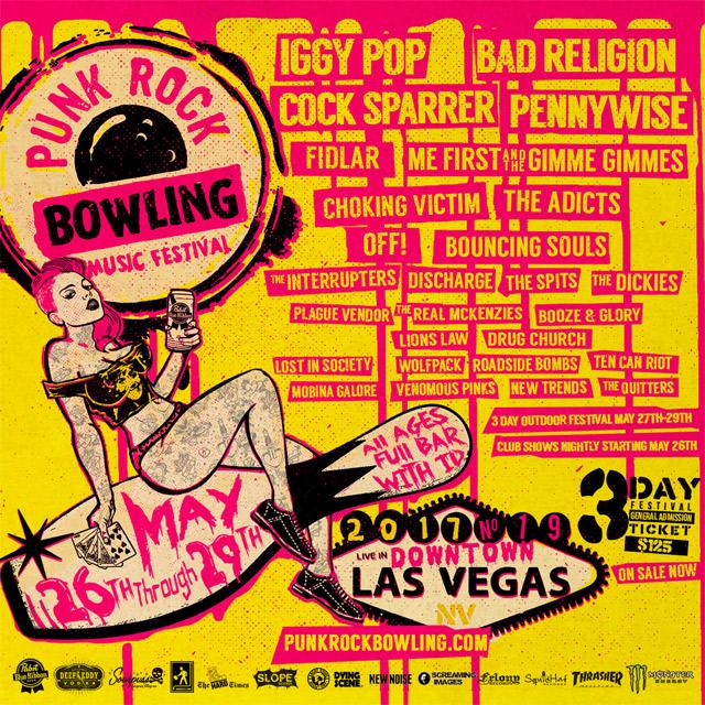 Punk Rock Bowling 2017, Las Vegas