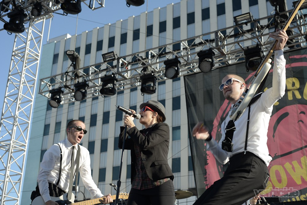 The Interrupters - photo by Shahab Zargari