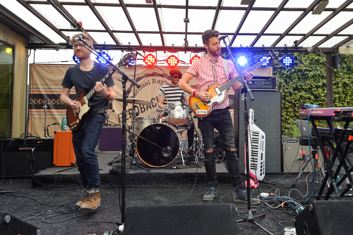 Jukebox the Ghost performing at Rachel Ray's Feedback Party on 3.15.18