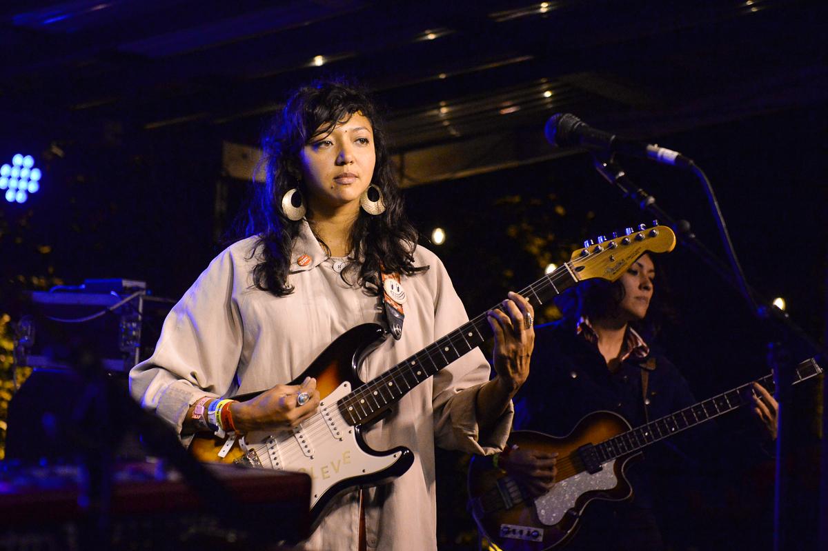 La Luz performing at Rachel Ray's Feedback Party on 3.15.18