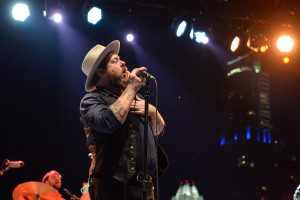 Nathaniel Rateliff and the Night Sweats performing at SXSW on 3.16.18