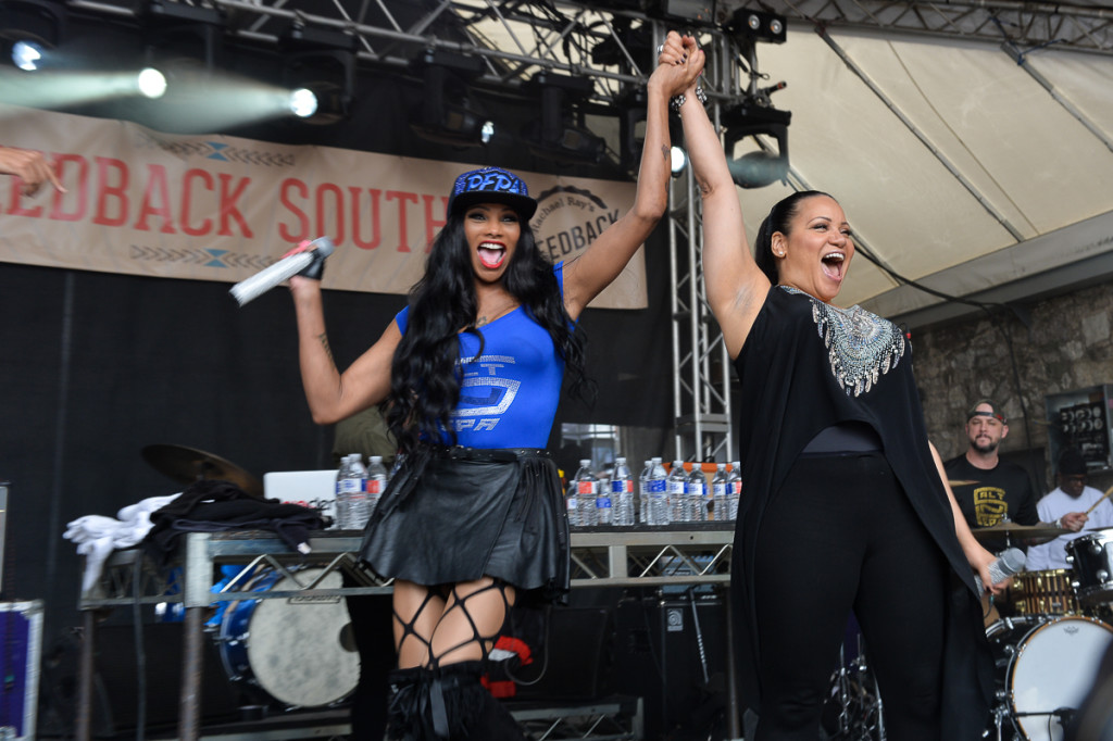 Sxsw 2018 Rachael Ray S Day Party Feat Salt N Pepa Girl